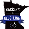 Backing the Blue Line - Black -Logo