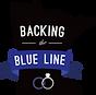 Backing the Blue Line -Black - Logo