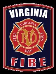 Virginia Fire Department - Minnesota - Patch
