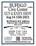 GUN FLYER - BUFFALO ICE ARENA 8-14-21 (1