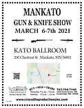 2021 Gun Show - Flyer MANKATO 6-7th-2021