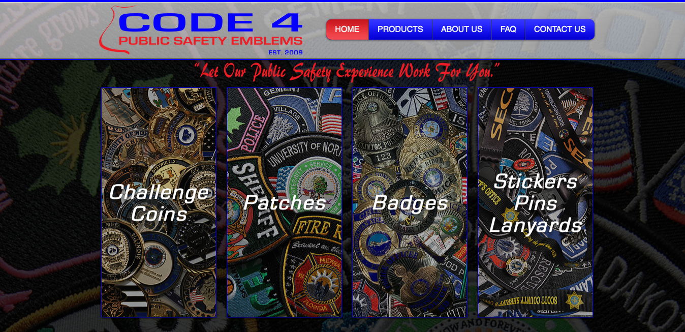 FAQ | CODE 4 Public Safety Emblems