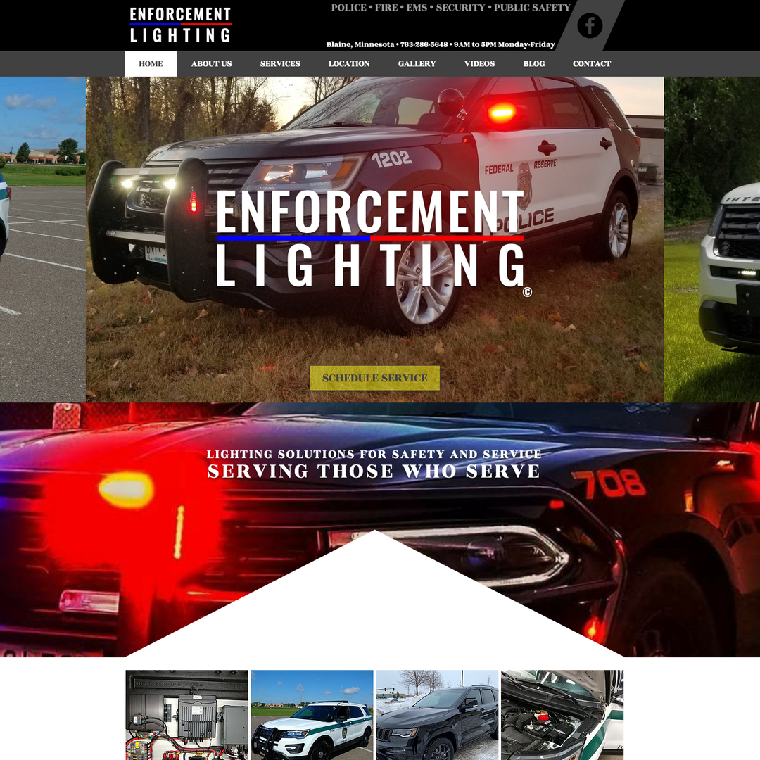 Enforcement Lighting