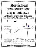 2021 Gun Show - Flyer Morristown 5-15-20