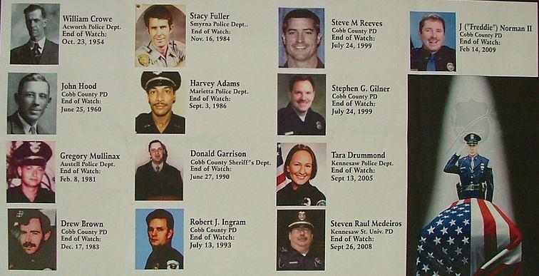FOP Lodge 13 Fallen Officers Banner.JPG