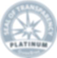 Seal of Transparency - Platinum Gude Star