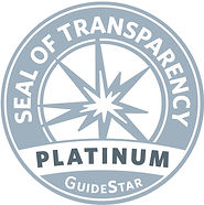 Seal of Transparency - Platinum Gude Star