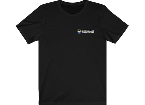 Powered by RD Designs - Unisex Jersey Short Sleeve Tee