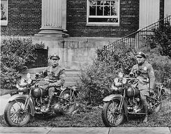 Historic - Officers on motorcycles - Virginia Police Department
