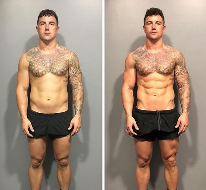 Fitnatix I Chris I Online Coaching Body Transformaton I Muscle Mass and Fat Loss