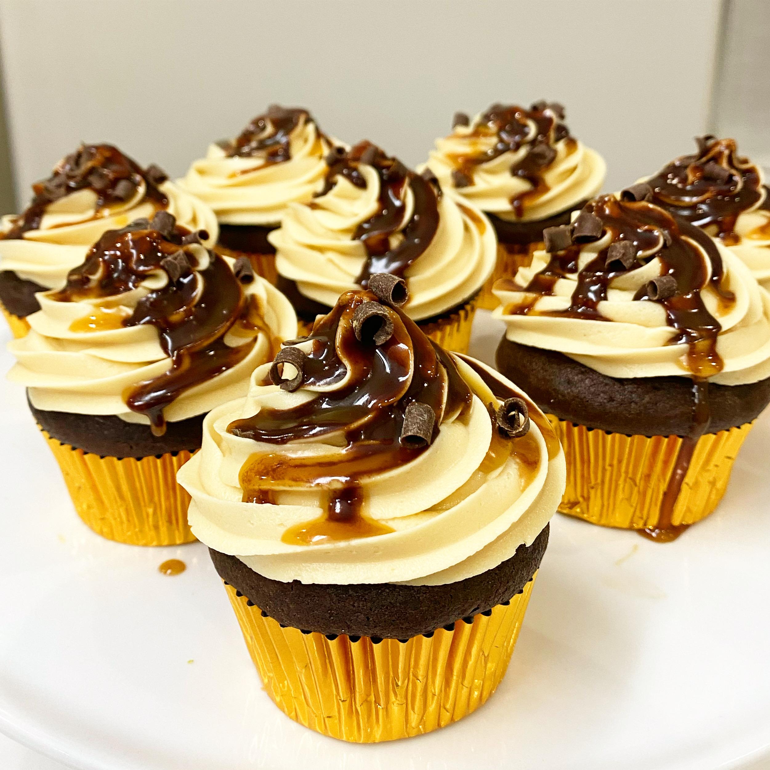 ChocolateCaramelCupcakes