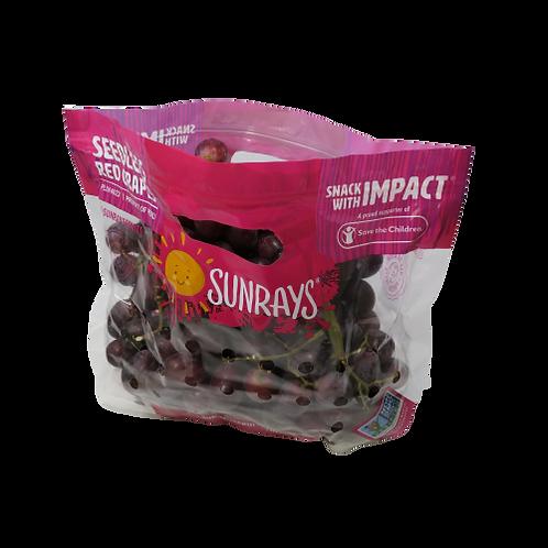 Red/Black Seedless Grapes (Bag)