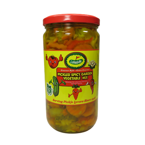 Lakeside Pickled Spicy Garden Vegetable Mix