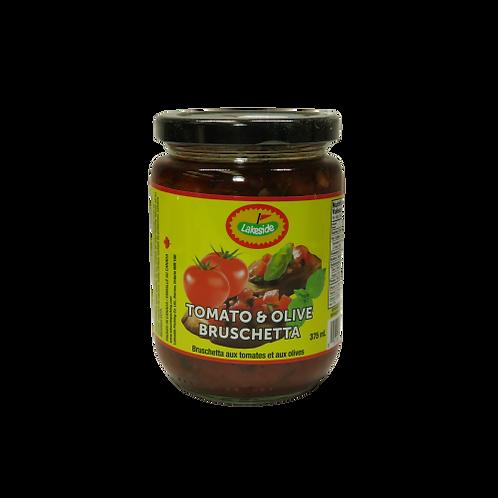 Lakeside Tomato and Olive Bruschetta