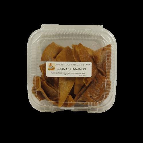 Wayne's Craft Pita Chips – Sugar & Cinnamon