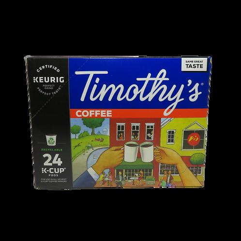 Timothy's Coffee Keurig K-Cups