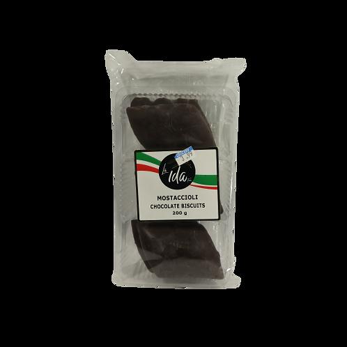 La Ida Foods Mostaccioli Chocolate Biscuits