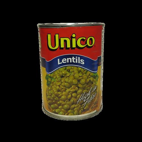 Unico Lentilles (canned)