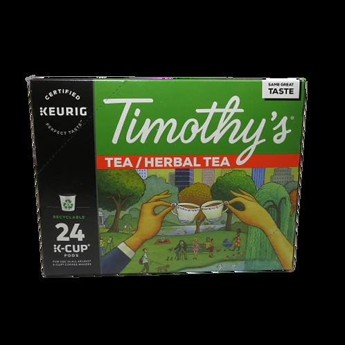 Timothy's Herbal Tea Keurig K-Cups