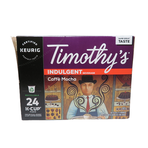 Timothy's Caffè Mocha Keurig K-Cups