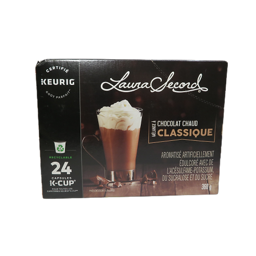 Laura Secord Classic Hot Chocolate Keurig K-Cups
