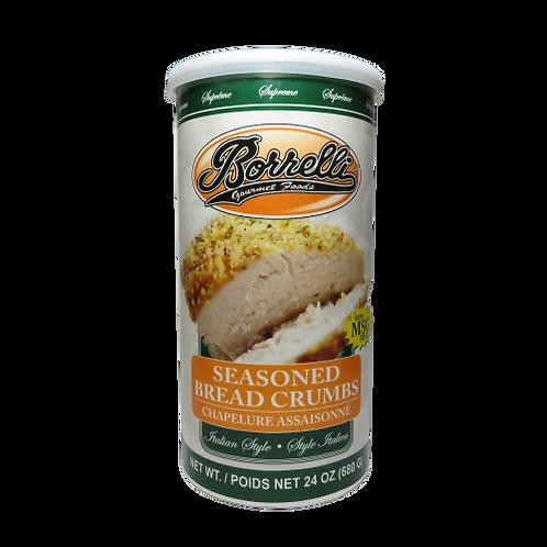 Borrelli Seasoned Bread Crumbs