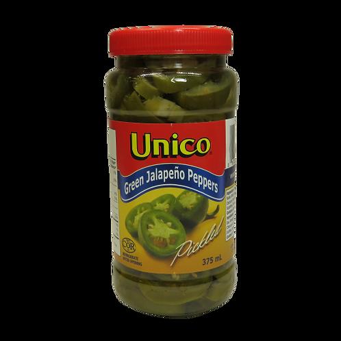 Unico Green Jalapeño Peppers
