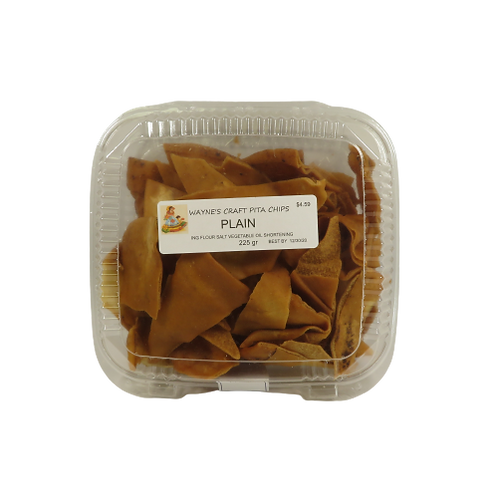 Wayne's Craft Pita Chips – Plain