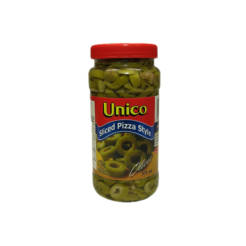 Unico Sliced Pizza Style Olives