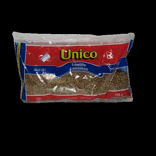 Unico Lentils (package)