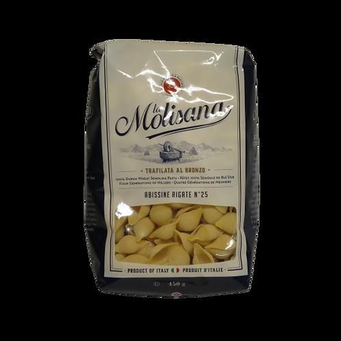 La Molisana Abissine Rigate No. 25 Pasta