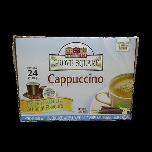 Grove Street Cappuccino – French Vanilla Keurig K-Cups