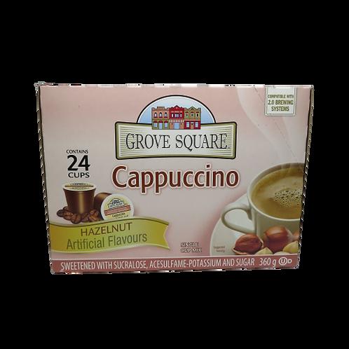 Grove Street Cappuccino – Hazelnut Keurig K-Cups