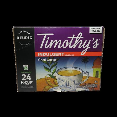 Timothy's Chai Latte Keurig K-Cups