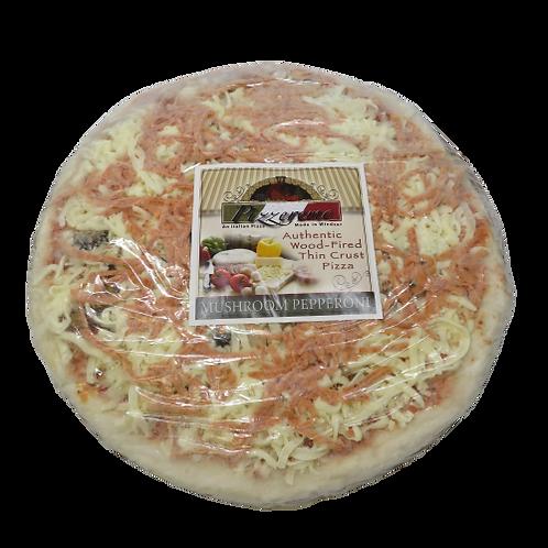 Pizzeremo Frozen Mushroom Pepperoni Pizza