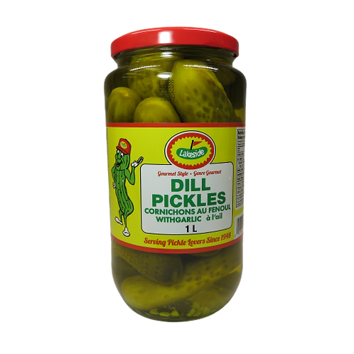 Lakeside Dill Pickles with Garlic