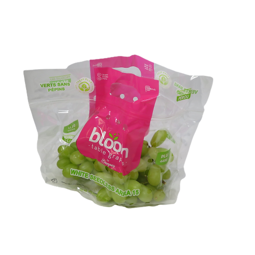 Green Seedless Grapes (Bag)