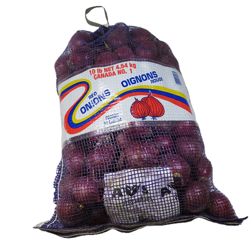 Large Red Onions (10 lb. Bag)