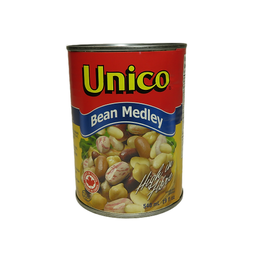 Unico Bean Medley (canned)