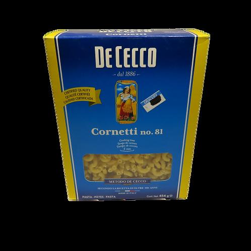 DeCecco Cornetti No. 81 Pasta