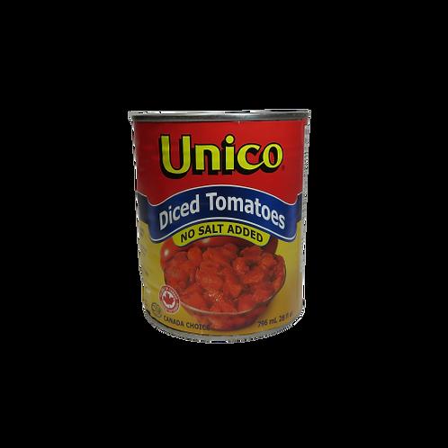 Unico Diced Tomatoes – No Salt Added