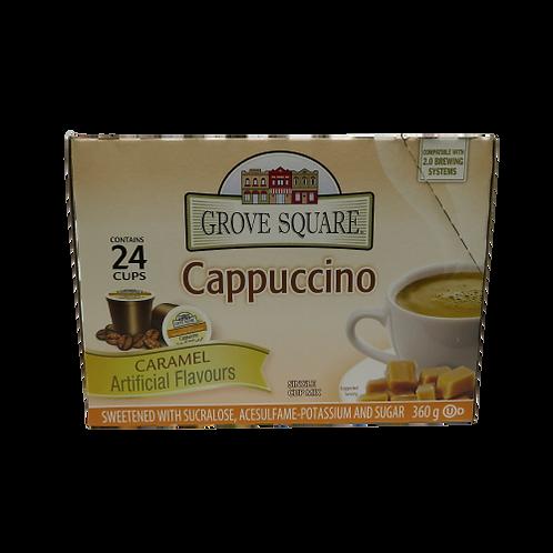 Grove Street Cappuccino – Carmel Keurig K-Cups