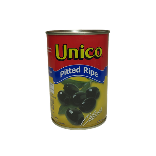Unico Pitted Ripe Olives (canned)