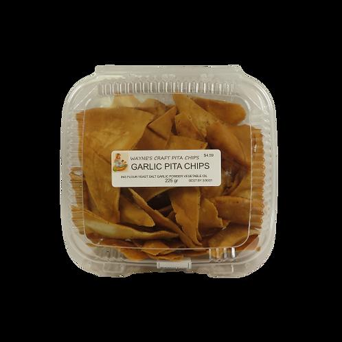 Wayne's Craft Pita Chips – Garlic
