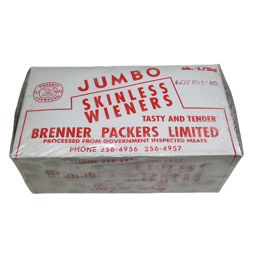 Brenners Skinless Weiners