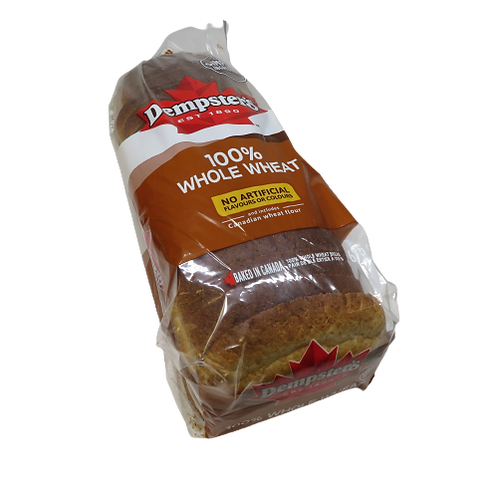 Dempsters 100% Whole Wheat – Loaf of Bread
