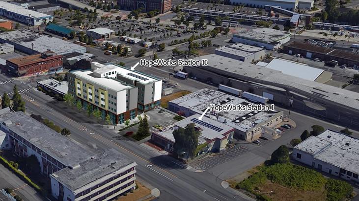 HopeWorks Station I & II rendering