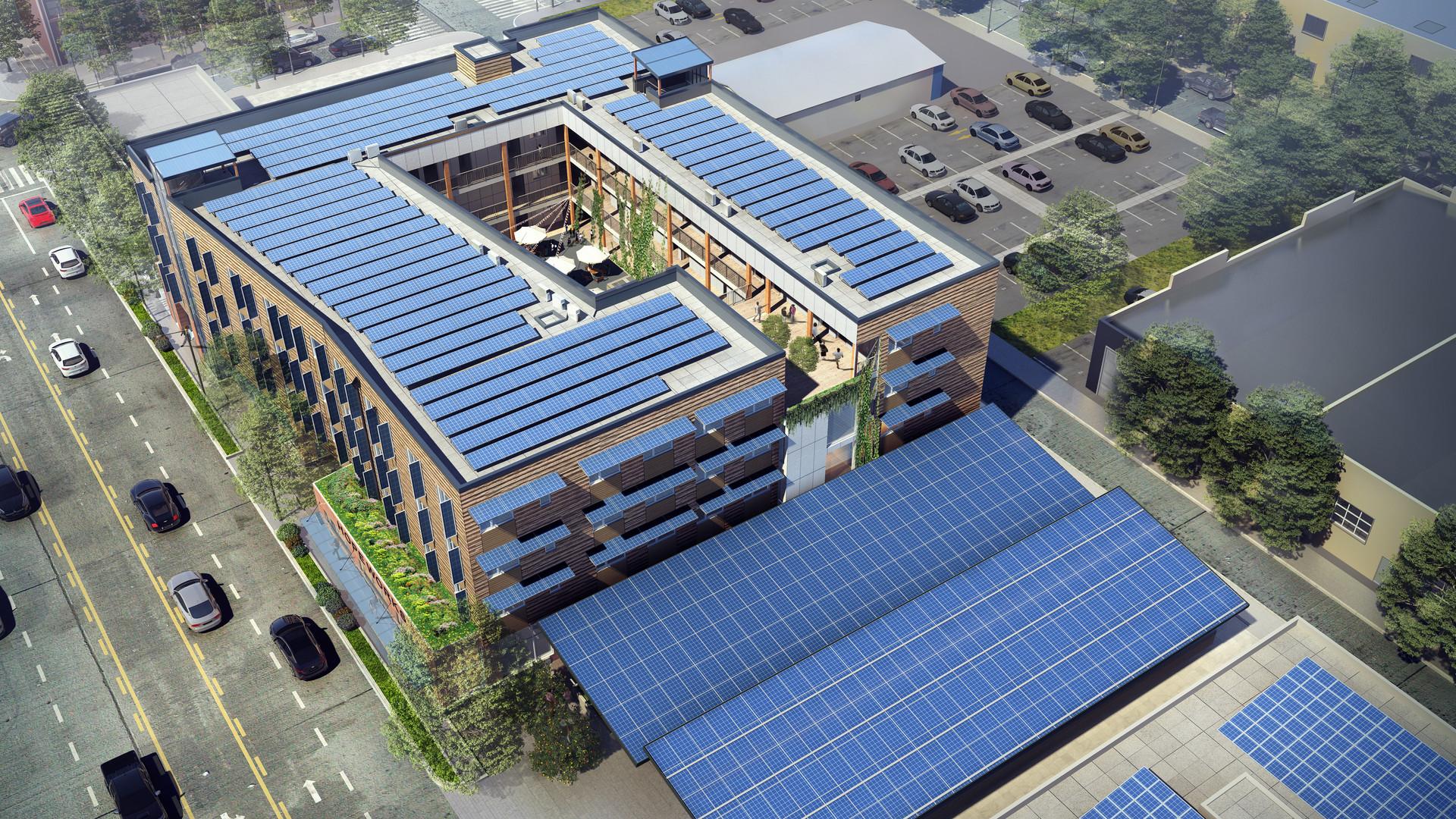 HopeWorks Station II Rendering Above