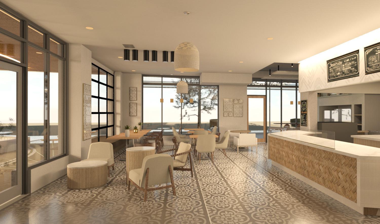 Cafe Rendering West