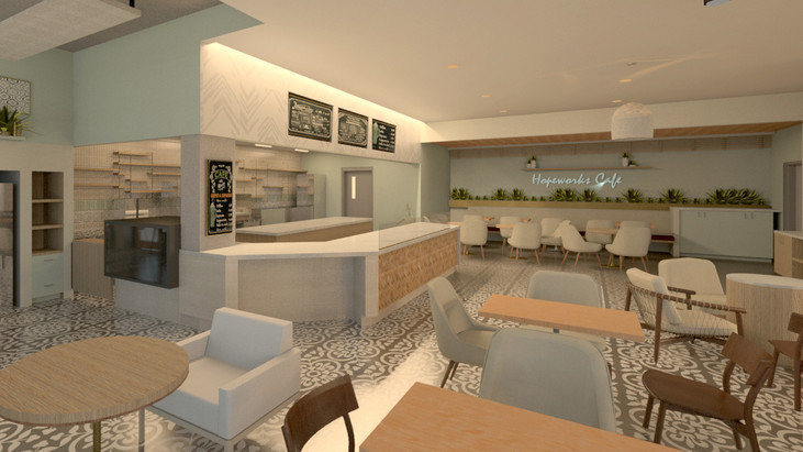 Cafe Rendering East